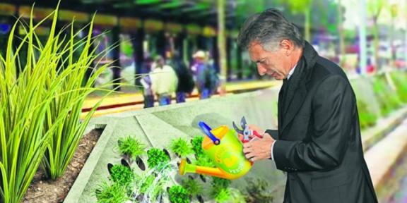Mauricio Macri hizo de Ciudad Verde su caballito de batalla ambiental