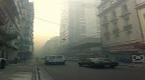 Humo en Buenos Aires