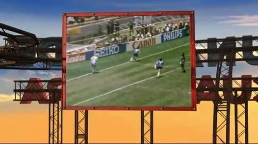 ¿La cancion del mundial? Le ponen reggae, cumbia y rock al gol de Maradona.