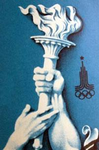 Antorcha olímpica.